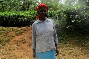 The Water Project: Mutambi Community, Kivumbi Spring -  Jescah With Her Jerrycans