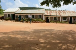 The Water Project: Muthei Secondary School -  School Compound