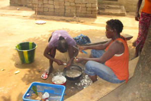 The Water Project: Malokoh Community, #4 Mabesseneh Road -  Food Prep