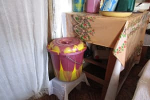 The Water Project: Sumbuya Community, Quarry Road -  Drinking Bucket