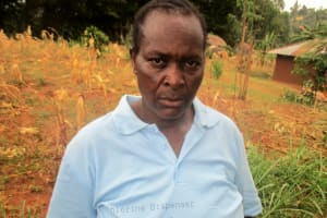 The Water Project: Mutambi Community, Kivumbi Spring -  Madam Florence Chellagat