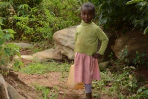 The Water Project: Mbindi Community C -  Current Water Source For Distant Families