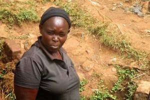 The Water Project: Mutambi Community, Kivumbi Spring -  Madam Ruth