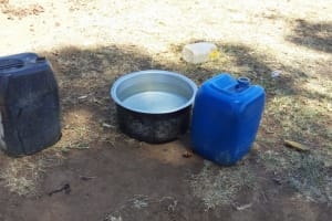 The Water Project: Shitaho Community, Mwikholo Spring -  Containers For Fetching Water