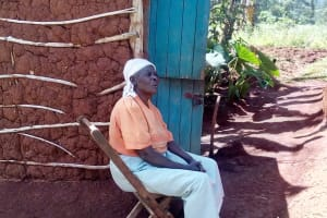 The Water Project: Shitaho Community B, Isaac Spring -  Mrs Otieno