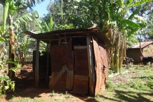 The Water Project: Lutari Community -  Latrine