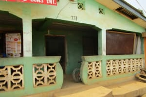 The Water Project: Malokoh Community, #4 Mabesseneh Road -  Local Household