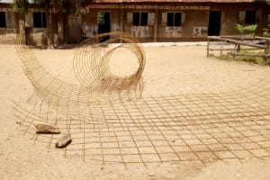 The Water Project: Shipala Primary School -  Wire Lining