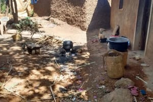 The Water Project: Shitoto Community, Abraham Spring -  Kitchen
