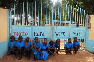 The Water Project: Bumini Primary School -  School Gate