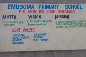The Water Project: Emusoma Primary School -  School Entrance