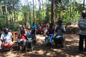 The Water Project: Emarembwa Community, Nyangweso Spring -  Village Elder Talks About Health