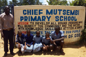 The Water Project: Chief Mutsembe Primary School -  School Entrance