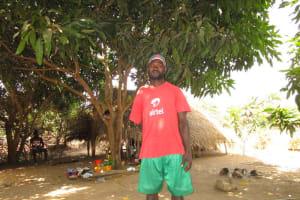 The Water Project: Kitonki Community, War Wounded Camp -  Siantigie Kamara
