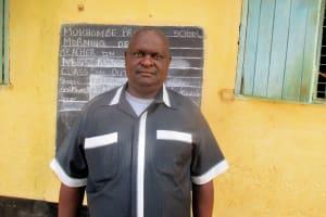 The Water Project: Mukhombe Primary School -  Mr Jotham Okwaro Headteacher