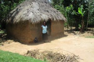 The Water Project: Mulundu Community, Fanice Mwango Spring -  Household