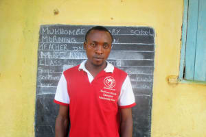 The Water Project: Mukhombe Primary School -  Mr Andera Andrew Senior Teacher