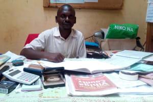 The Water Project: Ematsuli Primary School -  Headteacher Ematsuli Primary