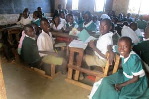 The Water Project: Esibuye Primary School -  Grade Four In Class
