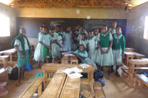 The Water Project: Emukangu Primary School, Butere -  Students In Class