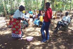 The Water Project: Emarembwa Community, Nyangweso Spring -  Hand Washing