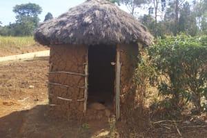 The Water Project: Futsi Fuvili Community, Futsi Fuvili Spring -  Latrine