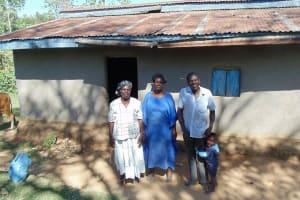 The Water Project: Shiamboko Community, Oluchinji Spring -  Family