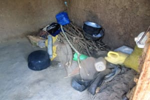 The Water Project: Mulundu Community, Fanice Mwango Spring -  Kitchen