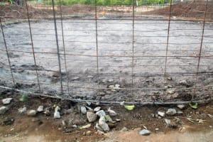 The Water Project: Friends Makuchi Secondary School -  Tank Construction