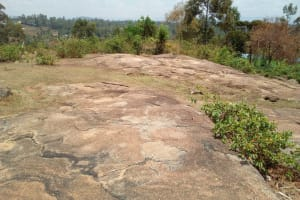The Water Project: Handidi Community, Kadasia Spring -  Landscape