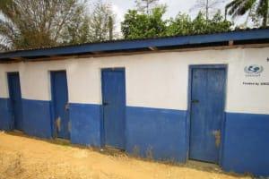 The Water Project: Kulafai Rashideen Primary School -  Latrines