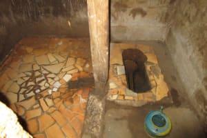 The Water Project: Kitonki Community -  Inside Latrine