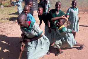 The Water Project: Eshisuru Primary School -  Health Club Students Posing For Picture