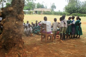 The Water Project: Esibuye Primary School -  Not Enough Classrooms