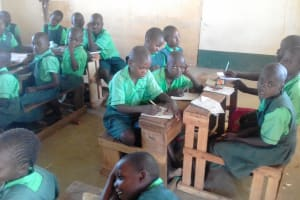 The Water Project: Emusoma Primary School -  Class