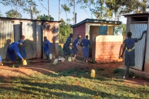 The Water Project: Iyenga Primary School -  Waiting For Latrines