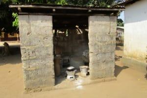 The Water Project: Benke Community, Brima Lane -  Kitchen