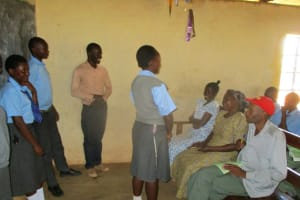 The Water Project: Bumuyange Secondary School -  Wash President Addresses Participants After Elections
