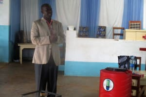 The Water Project: Virembe Primary School -  Mr Sylvester Madegwa Teacher In Charge Of Ctc Club