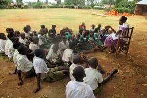 The Water Project: Esibuye Primary School -  Class