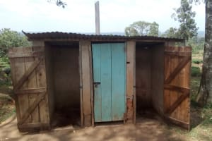 The Water Project: Muhudu Primary School -  Latrines