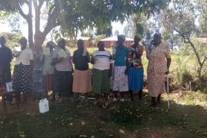 The Water Project: Bumavi Community, Shoso Mwoga Spring -  Participants