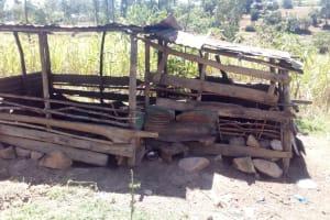 The Water Project: Handidi Community, Malezi Spring -  Pig Sty
