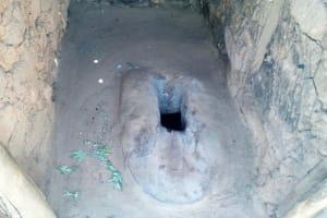 The Water Project: Bukhakunga Community, Indiatsi Omukitsa Spring -  Inside A Latrine