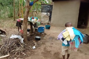 The Water Project: Ebung'ayo Community, Wycliffe Spring -  Household