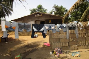 The Water Project: New London Community, Magburaka Road -  Clothesline