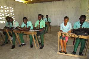The Water Project: Kulufai Rashideen Secondary School -  Students In Class