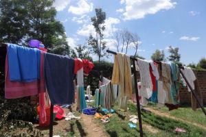 The Water Project: Ibinzo Girls Secondary School -  Hanglines