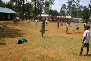 The Water Project: Esibuye Primary School -  Girl Suffering From Malaria