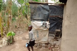 The Water Project: Ebung'ayo Community, Wycliffe Spring -  Bathing Room